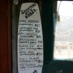 Die Strandloper Beach Bar - Shooter Menu